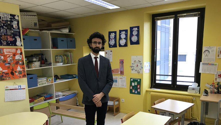 Nouveau directeur de la structure, Hugo Targhetta a pris ses fonctions le 5 janvier.