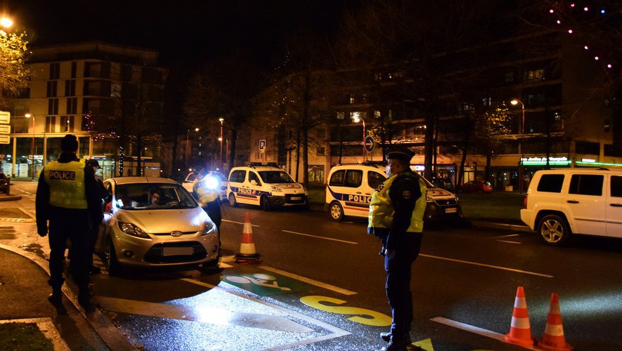 Quelques 420 000 Français ont été contrôlés par rapport au couvre-feu la semaine dernière.