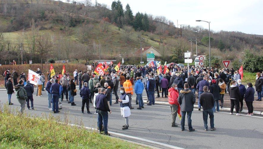 Il devrait encore y avoir du monde ce dimanche après-midi sur la zone des Prades de Viviez pour soutenir l'usine Sam.
