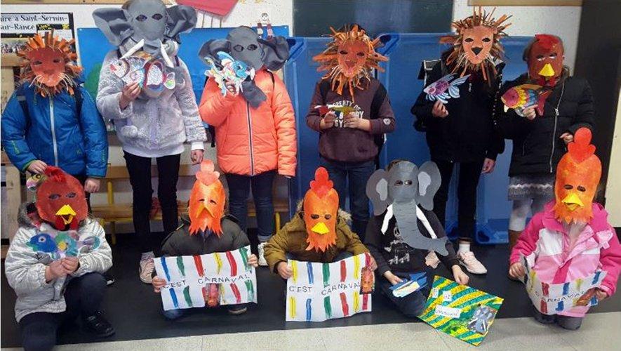 L'étude du Carnaval des animaux de Camille Saint-Saëns a donné lieu à plusieurs ateliers.