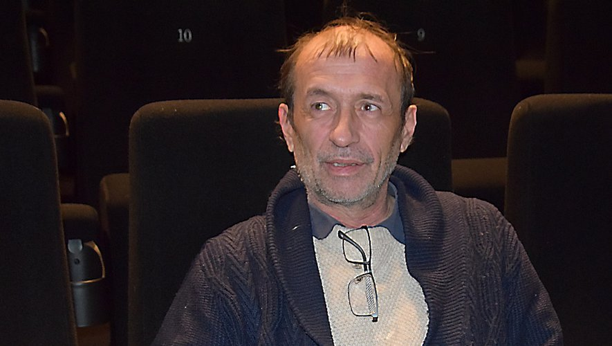 Igor Sakiroff, comme un poisson dans l'eau, dans les salles de cinéma du CGR ruthénois.