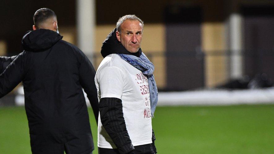 Laurent Peyrelade était satisfait du résultat mais surtout du visage affiché par ses joueurs.