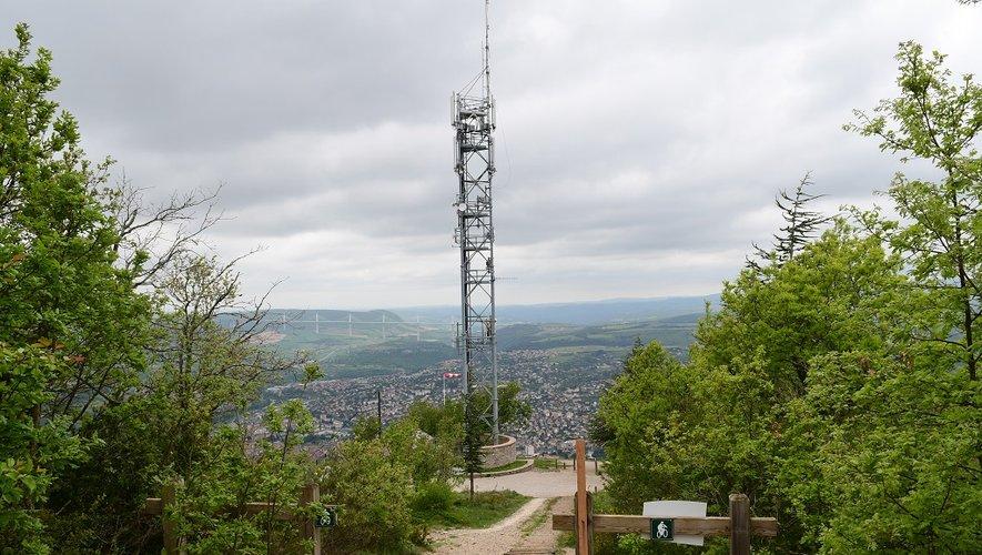 Le record de la nuit a été enregistré en haut de la Poncho, à Millau.
