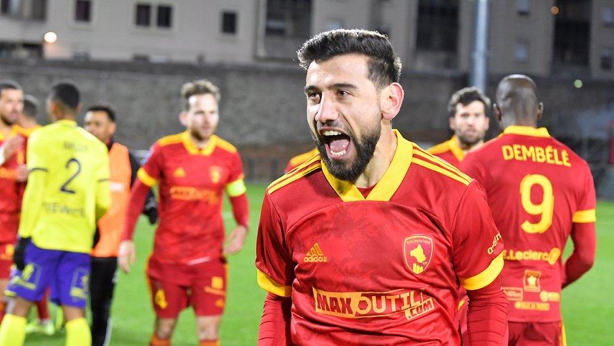 Amiran Sanaia peut savourer : le Raf est actuellement l'une des équipes les plus performantes de Ligue 2.