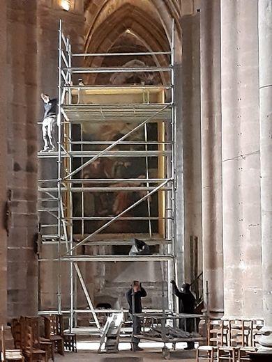 """Vers la restauration  du """"Martyre de Sainte-Procule"""""""