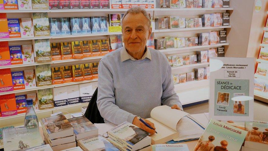 Louis Mercadié a dédicacéson dernier ouvrage.