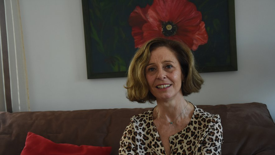La présidente Sylvie Glandières.