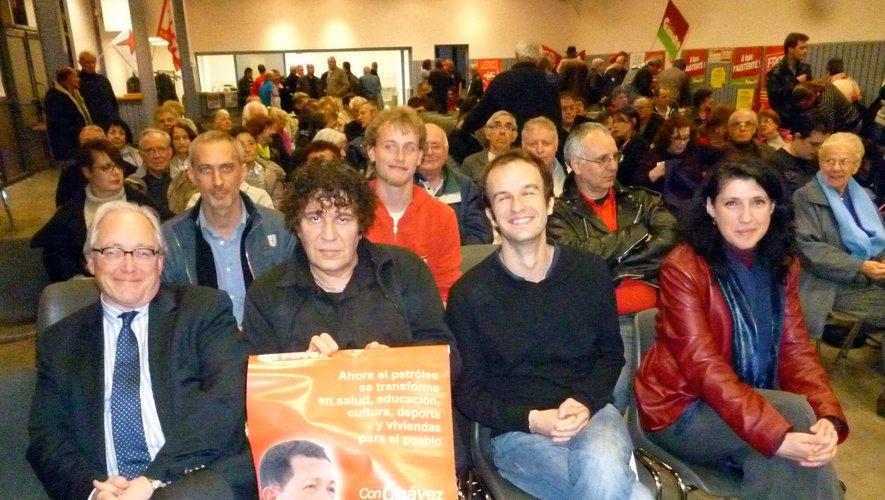 En 2013, Manuel Bompard et Myriam Martin étaient dans le Bassin pour participer à un meeting du Front de gauche.