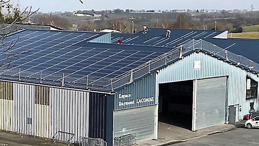 Après la salle des fêtes Lax, Baraqueville sera très bientôt dotée de sa seconde centrale électrique solaire.