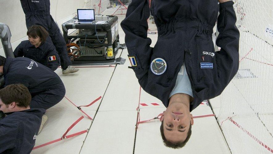 Sébastien Rouquette travaille au Cnes et il est responsable, notamment, des vols paraboliques.Emmanuel Pédousseau (Zetapress)