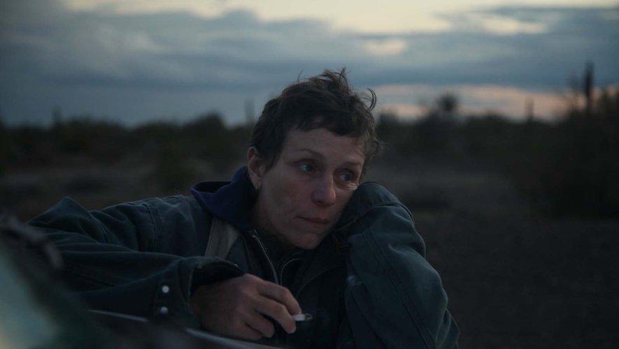 """Frances McDormand est nommée aux Golden Globes pour sa performance dans """"Nomadland""""."""