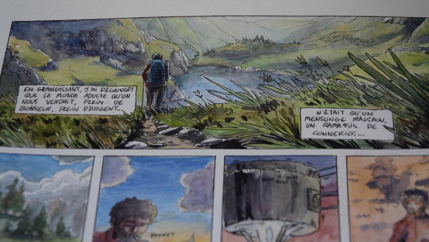 Pierre Beaugelet, les dessins et son dessein d'activiste écologiste