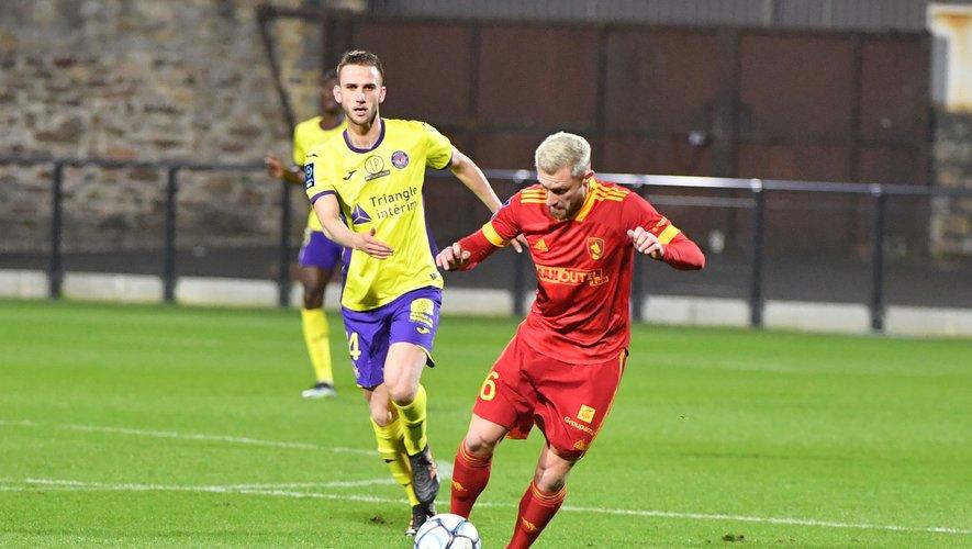 Rémy Boissier a été suspendu un match pour accumulation de cartons jaunes.