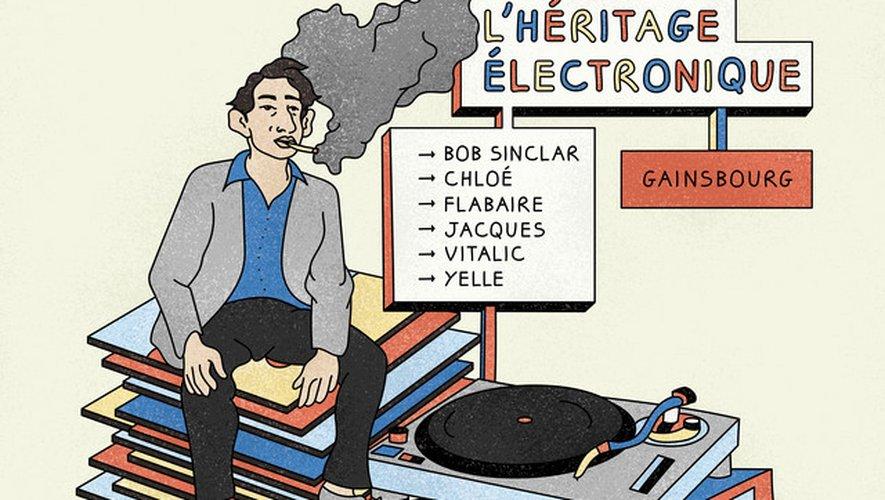 """Un podcast """"Gainsbourg l'héritage électronique"""" sera diffusé sur Spotify à l'occasion des hommages rendus au concepteur de """"La Javanaise"""" disparu le 2 mars 1991."""