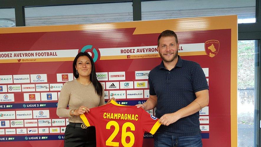 Solène Champagnac a rejoint le Raf en octobre.