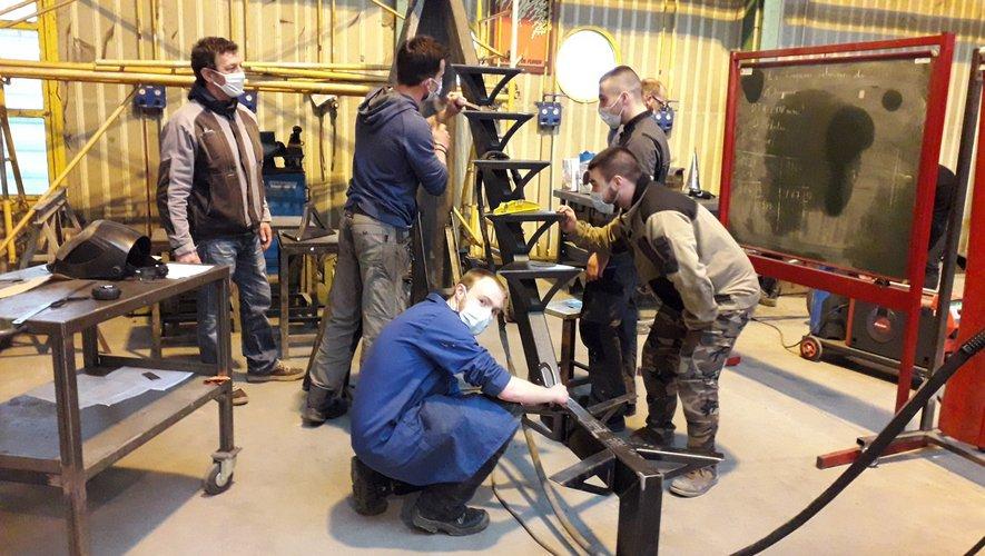 Le Bac de chaudronnerie industrielle et le BTS conception et réalisation en chaudronnerie industrielle offrent de nombreux débouchés.