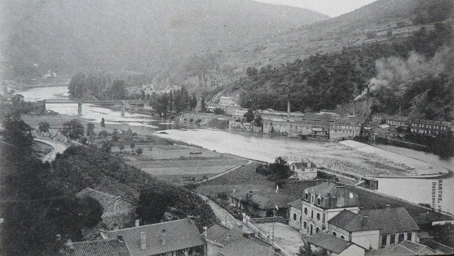 Boisse-Penchot au début  du XXe siècle.