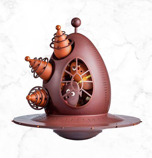 L'Oeuf Volant Non Identifié de la Maison du Chocolat.