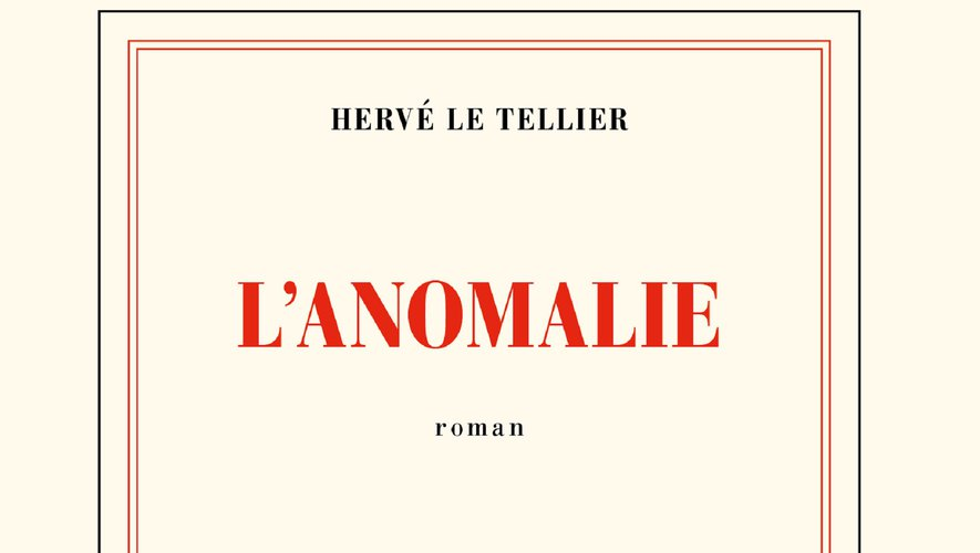 """Sorti en août dernier, """"L'Anomalie"""" de Hervé Le Tellier reste le livre le plus vendu en France."""