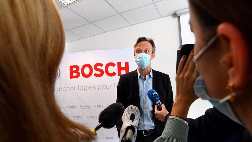 Heiko Carrie, aujourd'hui sur le site ruthénois de Bosch.