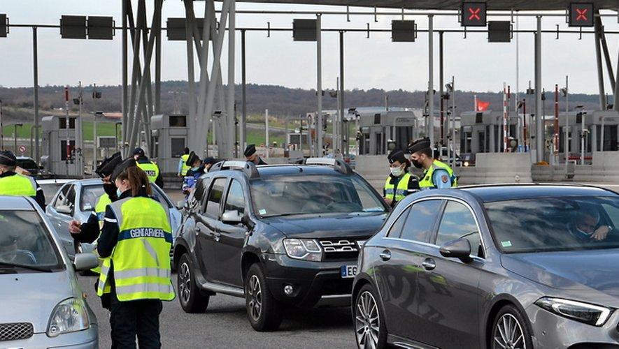 Dès l'entrée de l'autoroute, les contrôles de stupéfiant se sont avérés fructueux pour les gendarmes.