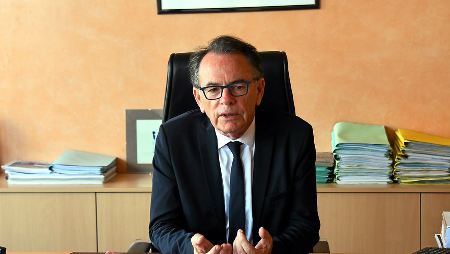 Christian Teyssèdre, président de Rodez Agglo :