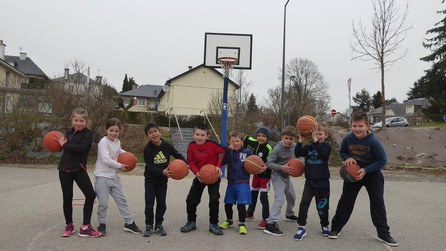 Le plaisir du jeu toujours présent chez les jeunes basketteurs