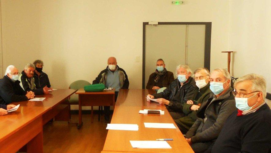 Les participants à l'assemblée.