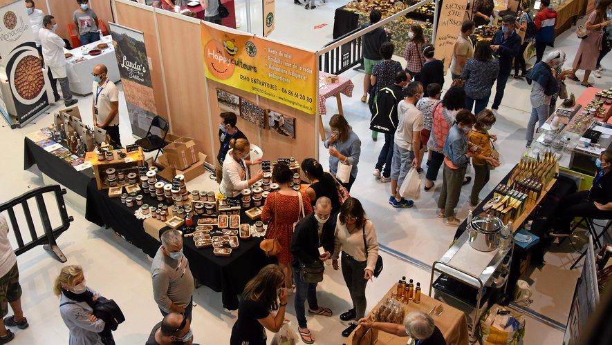Une centaine d'exposants et plus de 3 000 visiteurs lors du 2e salon organisé à Rodez.