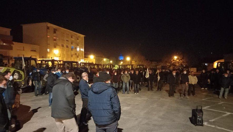 Grosse mobilisation à Villefranche-de-Rouergue.
