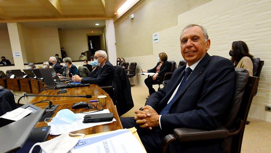 L'ancien président a participé, vendredi , à sa dernière session publique.