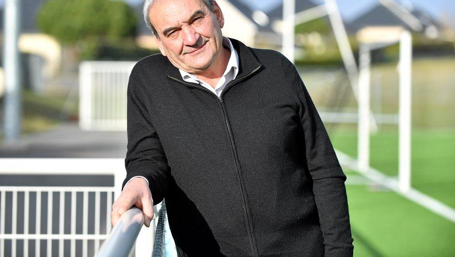 Pierre Bourdet, président du District de l'Aveyron.