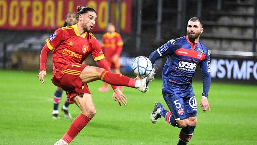 Passeur puis buteur, Ugo Bonnet s'est montré décisif face à Valenciennes.