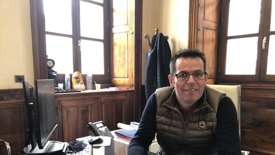 Sébastien David, le président du Sieda, en charge du dossier de la fibre dans le département.
