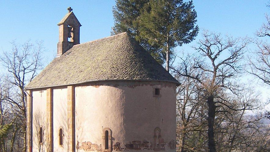 La chapelle Saint-Joseph,  tout près de Testet.