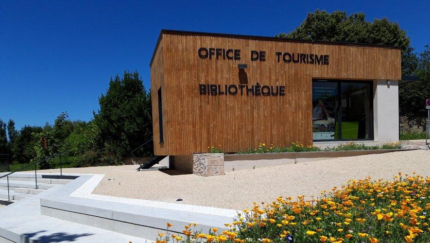 Le bureau d'informations touristique de La Bastide-l'Evêque.