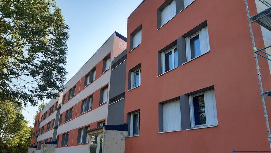 Une façade joliment rénovée.