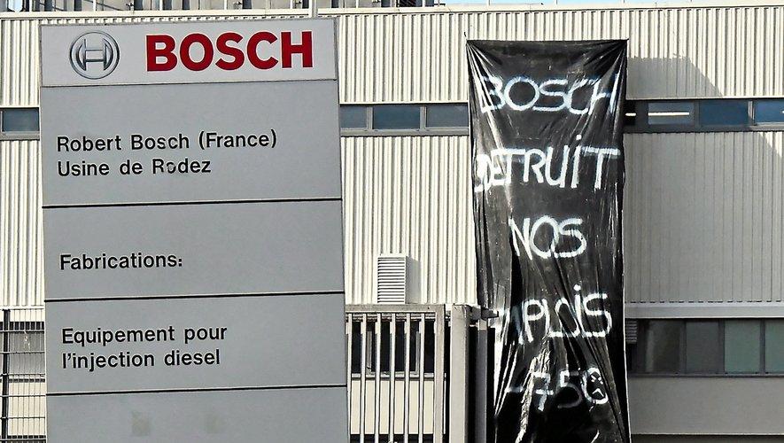 Un appel à la grève a été lancé sur le site de l'usine Bosch afin de permettre à tous les salariés de prendre part à la manifestation du jour.