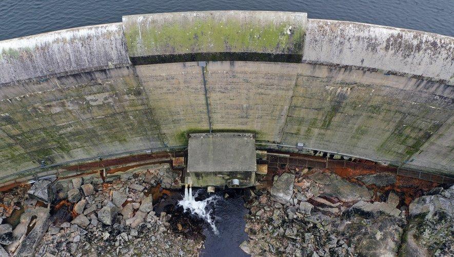 Le barrage des Galens.