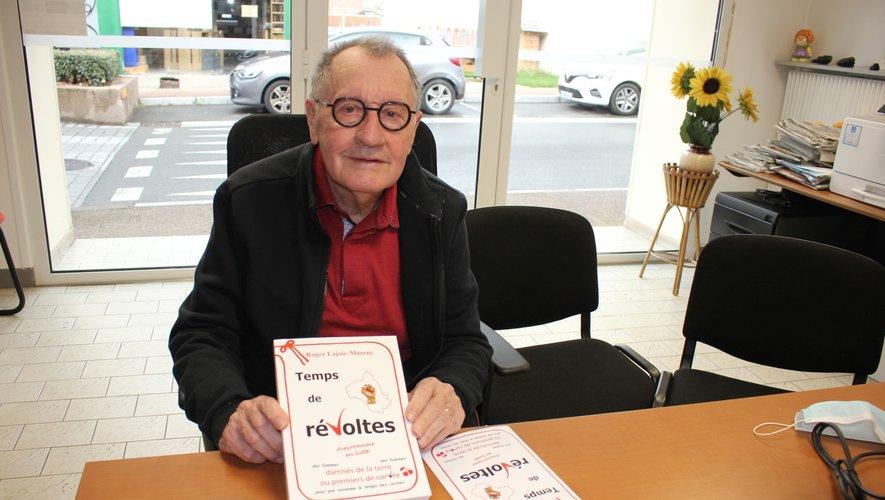Roger Lajoie-Mazencet son nouveau livre.