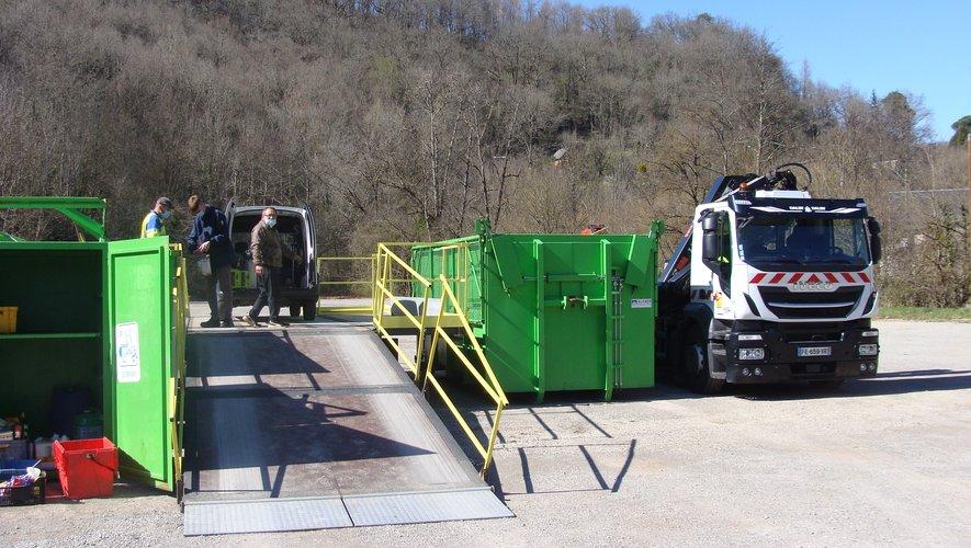 La déchetterie mobile pour une meilleure gestion des déchets