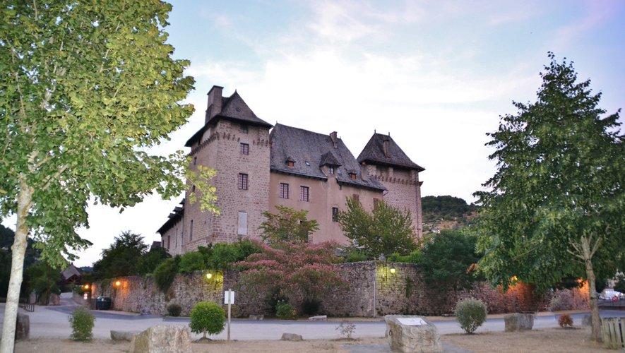 Le château d'Entraygues et son riche passé historique