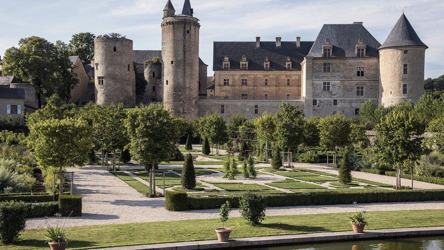 Le château de Bournazel rouvre (presque) toutes ses portes au public.