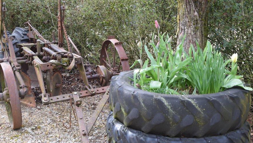 Clément Fournier sort les tracteurs du grenier