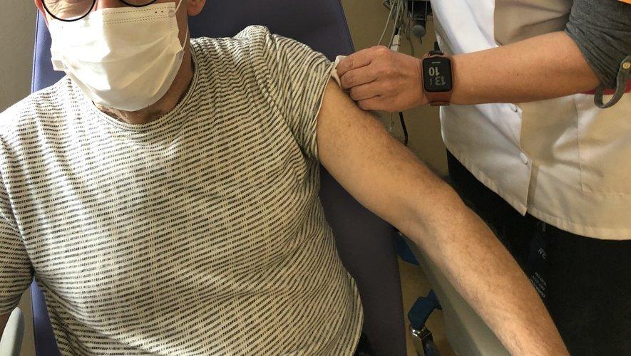 Le centre de vaccination de Villefranche est fourni en doses Pfizer-BioNTech.
