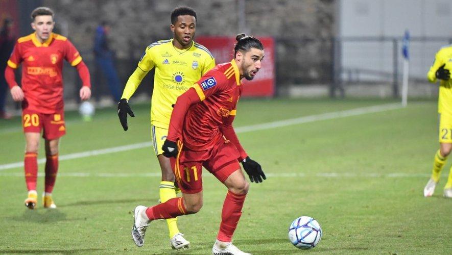 Ugo Bonnet en est actuellement à six buts marqués en L2 cette saison.