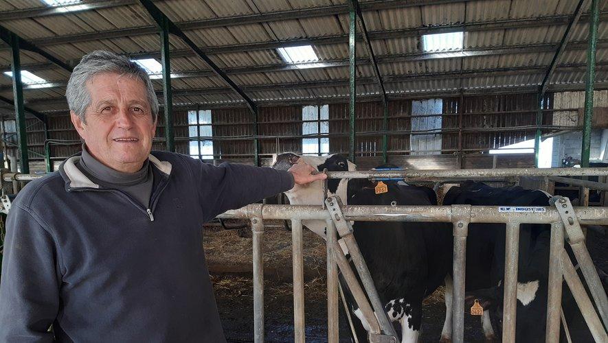 L'éleveur de Luc a consacré sa vie à l'agriculture.Crédit Ph.R.