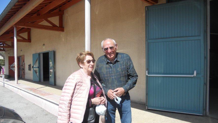 Josette et Claude Miral.