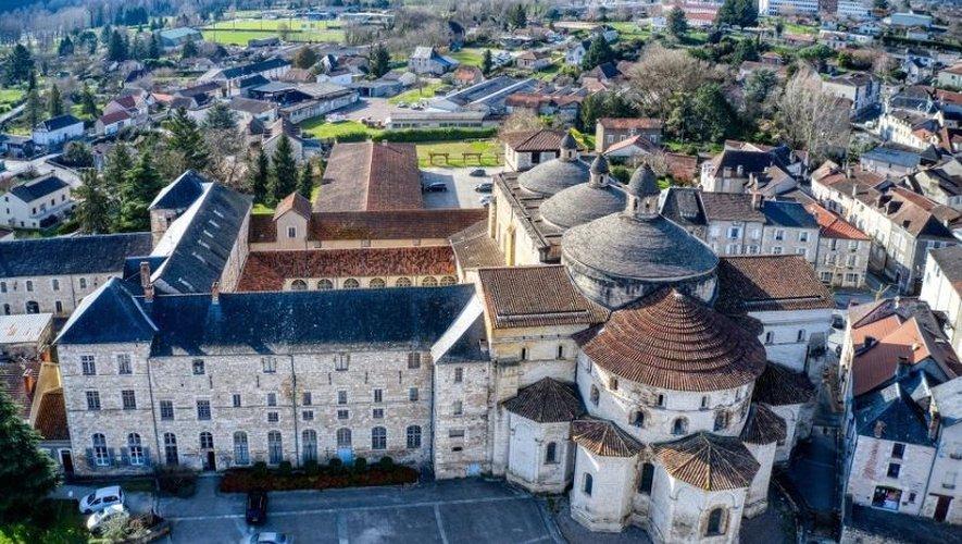 L'église abbatiale Sainte-Marie de Souillac.