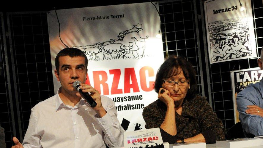 Pierre-Marie Terral a écrit plusieurs livre sur la lutte du Larzac.